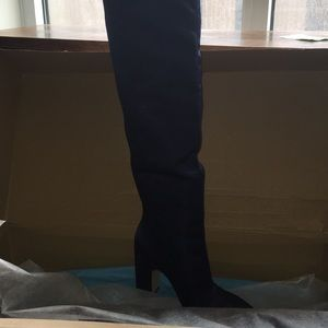 NIB Navy Blue Boots